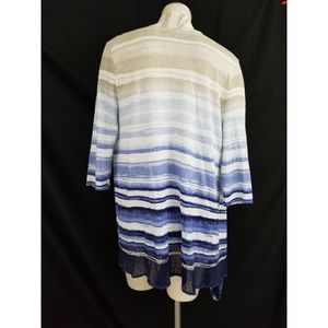 Chico's Sweaters - Chico's Size 0 S Open Cardigan Lightweight
